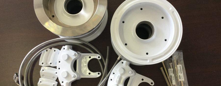 Cleveland Wheel & Brake Kit