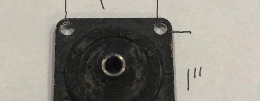 Instrument Panel Rubber Mount